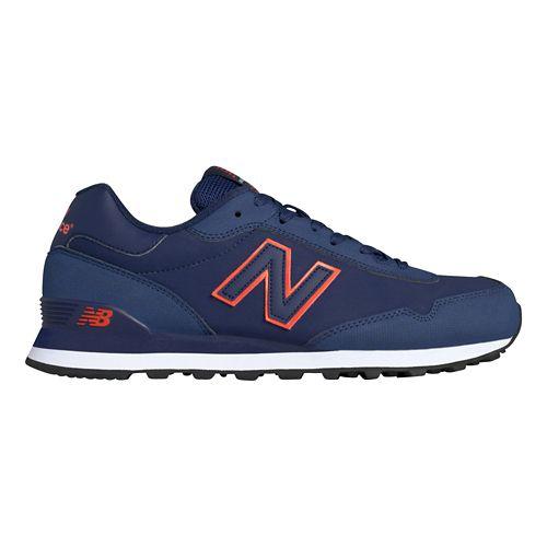 Mens New Balance 515 Casual Shoe - Navy/Orange 10