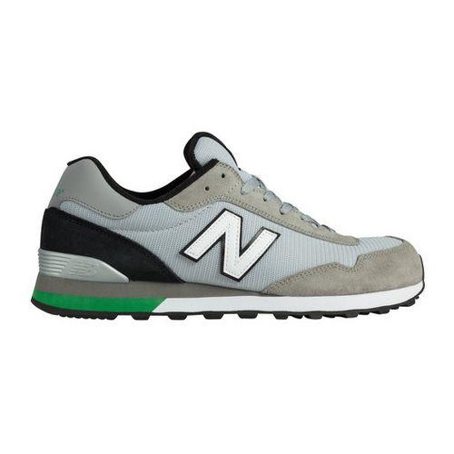 Mens New Balance 515 Casual Shoe - Grey/Green 10.5