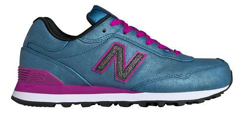 Womens New Balance 515 Casual Shoe - Blue/Pink 8