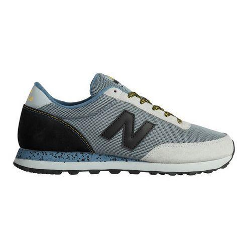 Mens New Balance 501 Casual Shoe - Grey/Green 12