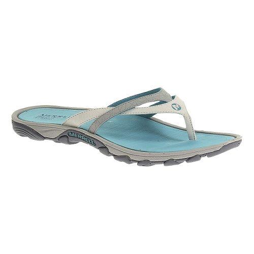 Womens Merrell Enoki Flip Sandals Shoe - Sky Blue 7
