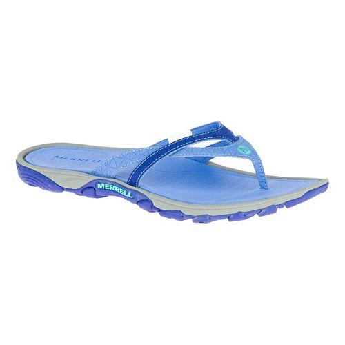 Womens Merrell Enoki Flip Sandals Shoe - Light Blue 8