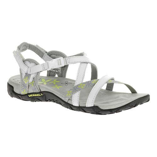 Womens Merrell Terran Lattice Sandals Shoe - White 11