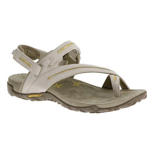 Womens Merrell Terran Convertible Sandals Shoe - Silver Lining 9