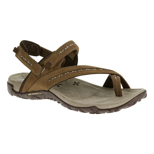 Womens Merrell Terran Convertible Sandals Shoe - Dark Earth 6