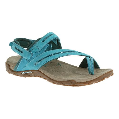 Womens Merrell Terran Convertible Sandals Shoe - Algiers Blue 5