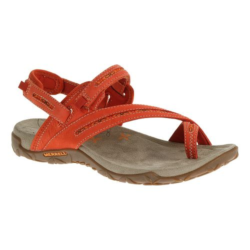Womens Merrell Terran Convertible Sandals Shoe - Red Clay 9