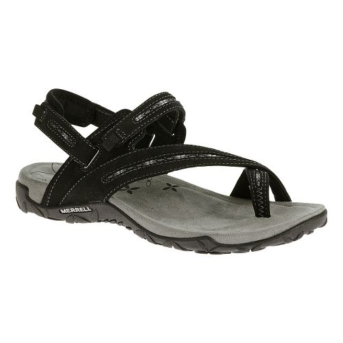 Womens Merrell Terran Convertible Sandals Shoe - Black 9