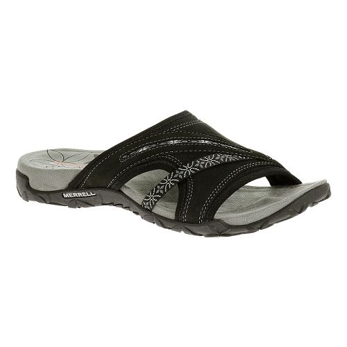 Womens Merrell Terran Slide Sandals Shoe - White 6
