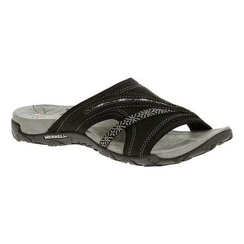 Womens Merrell Terran Slide Sandals Shoe - Black 8