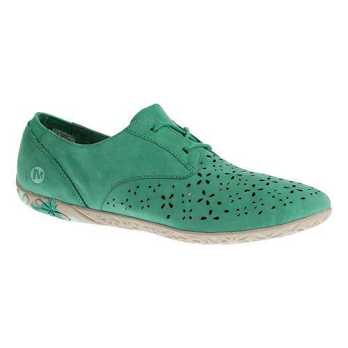 Womens Merrell Mimix Maze Casual Shoe - Dynasty Green 5.5