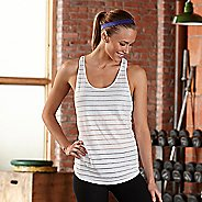 Womens R-Gear Stripe Hype Tank Sleeveless & Tank Technical Tops - White L