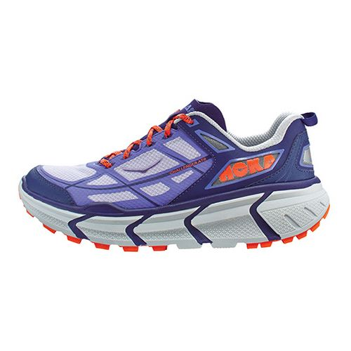 Womens Hoka One One Challenger ATR Trail Running Shoe - Purple/Orange 7.5
