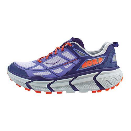 Womens Hoka One One Challenger ATR Trail Running Shoe - Purple/Orange 7