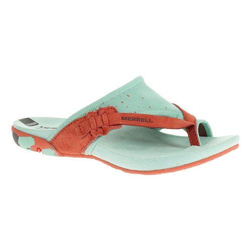 Womens Merrell Mimix Pier Sandals Shoe - Coral 10