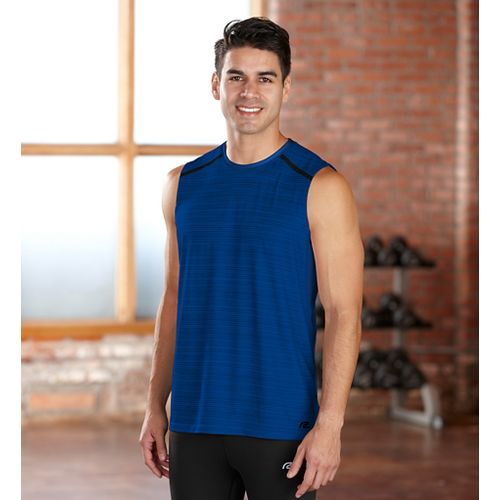 Mens R-Gear Your Unbeatable Sleeveless Technical Tops - Cobalt L