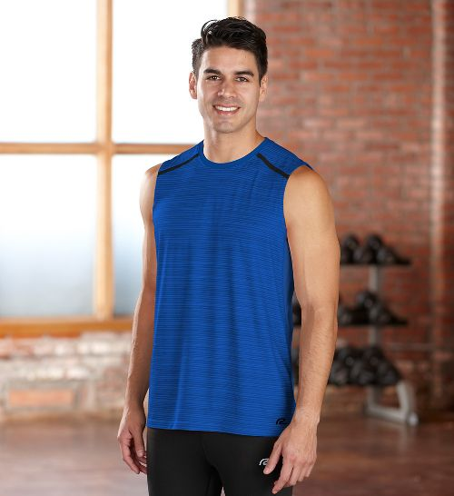 Mens R-Gear Your Unbeatable Sleeveless Technical Tops - Cobalt S