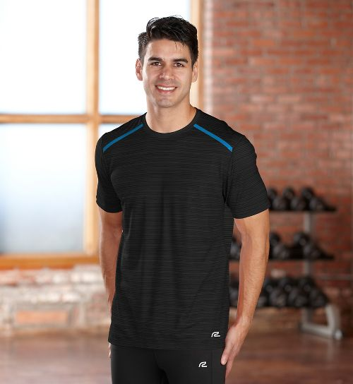 Mens R-Gear Your Unbeatable Short Sleeve Technical Tops - Black S