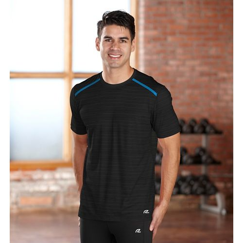 Mens R-Gear Your Unbeatable Short Sleeve Technical Tops - Black L