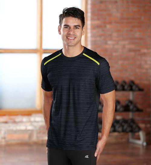 Mens R-Gear Your Unbeatable Short Sleeve Technical Tops - Black L