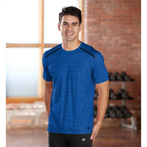 Mens R-Gear Your Unbeatable Short Sleeve Technical Tops - Cobalt S