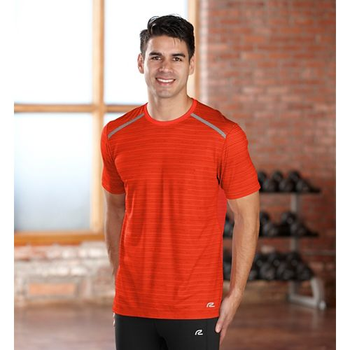Mens R-Gear Your Unbeatable Short Sleeve Technical Tops - Flame M