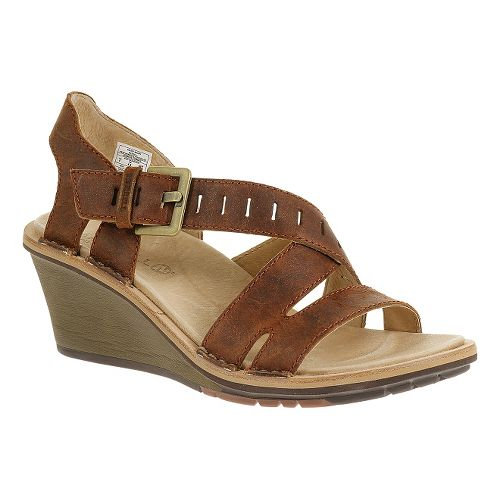 Womens Merrell Sirah Lattice Sandals Shoe - Prairie Brown 5