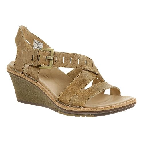 Womens Merrell Sirah Lattice Sandals Shoe - Beige 6