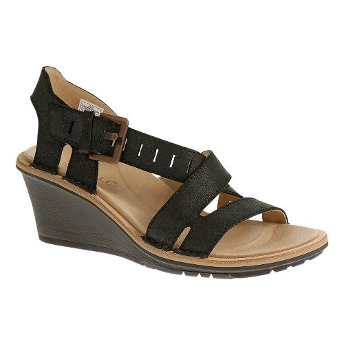 Womens Merrell Sirah Lattice Sandals Shoe - Black 11