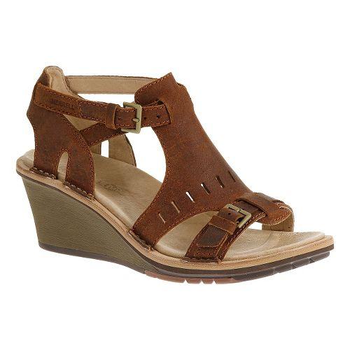 Womens Merrell Sirah Cloak Sandals Shoe - Prairie Brown 9