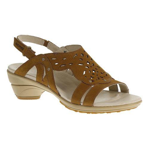 Womens Merrell Veranda Link Sandals Shoe - Oat Straw 9