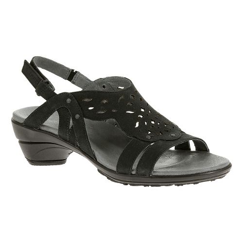 Womens Merrell Veranda Link Sandals Shoe - Black 5