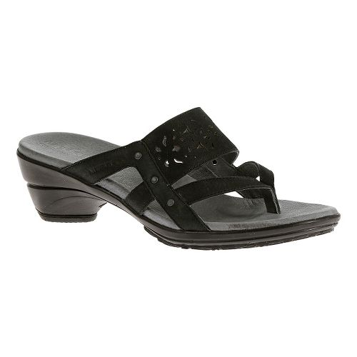 Womens Merrell Veranda Ribbon Sandals Shoe - Black 6