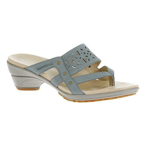 Womens Merrell Veranda Ribbon Sandals Shoe - Dusty Blue 6