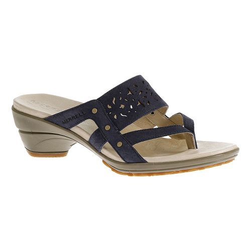 Womens Merrell Veranda Ribbon Sandals Shoe - Tahoe 11