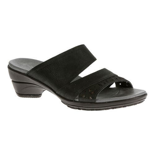Womens Merrell Veranda Slide Sandals Shoe - Black 5