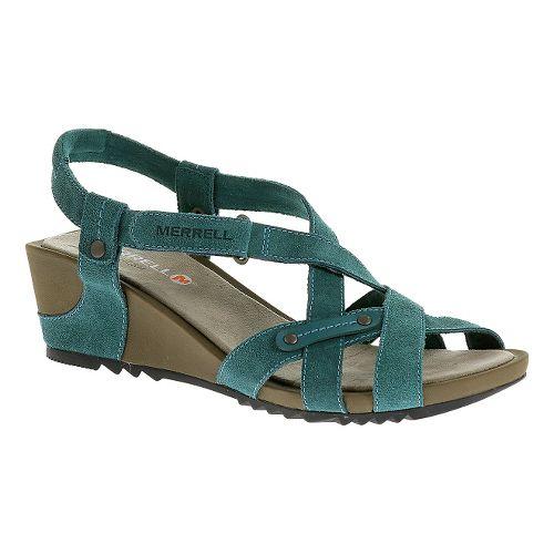 Womens Merrell Revalli Cross Sandals Shoe - Dragonfly 6