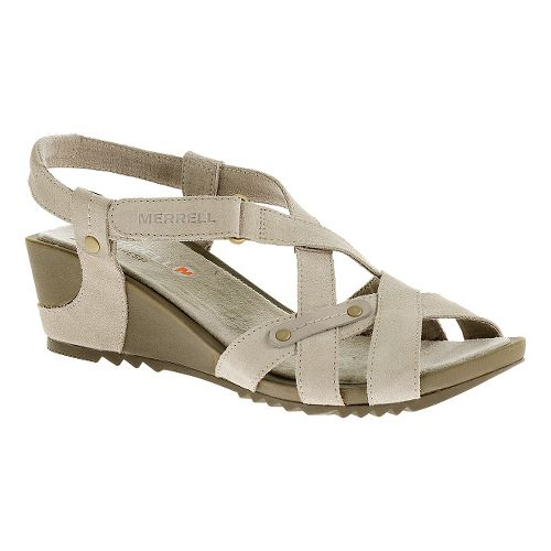 Womens Merrell Revalli Cross Sandals Shoe - Simple Taupe 11
