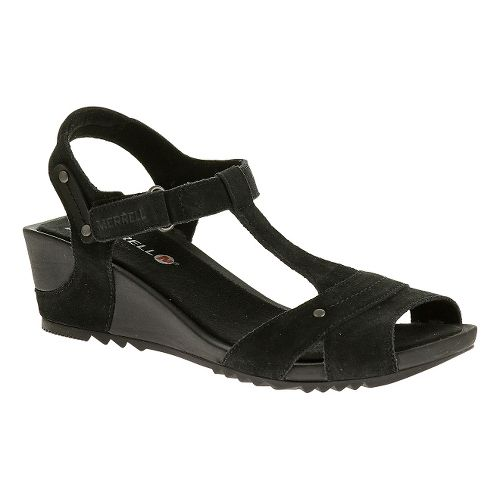 Womens Merrell Revalli Link Sandals Shoe - Black 5