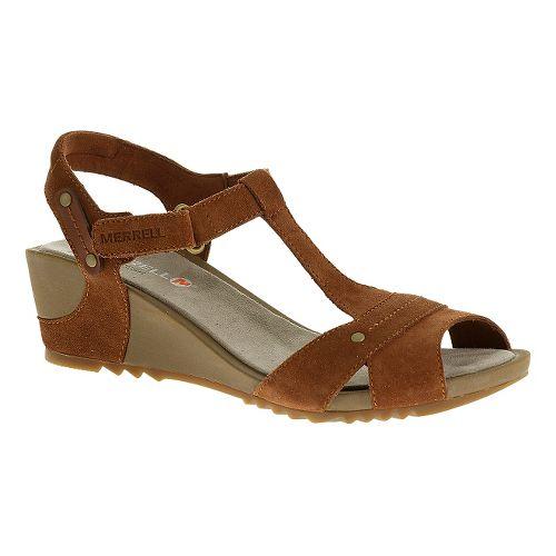 Womens Merrell Revalli Link Sandals Shoe - Tortoise Shell 7