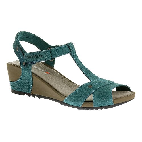 Womens Merrell Revalli Link Sandals Shoe - Dragonfly 6
