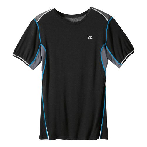 Mens R-Gear Strong As Ice Short Sleeve Technical Tops - Black L