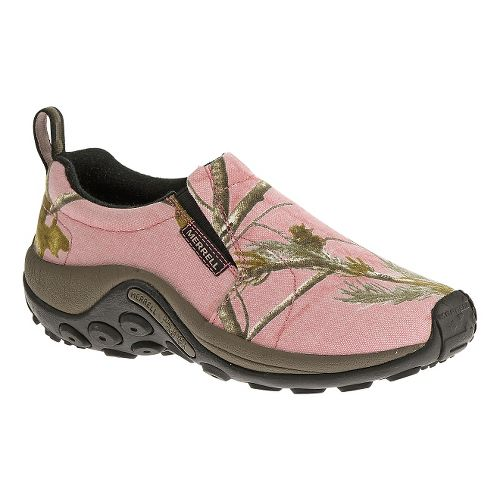 Womens Merrell Jungle Moc Camo Casual Shoe - Pink Camo 7.5
