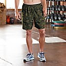 "Mens Road Runner Sports Fast Track Camo 2-in-1 7"" Shorts"