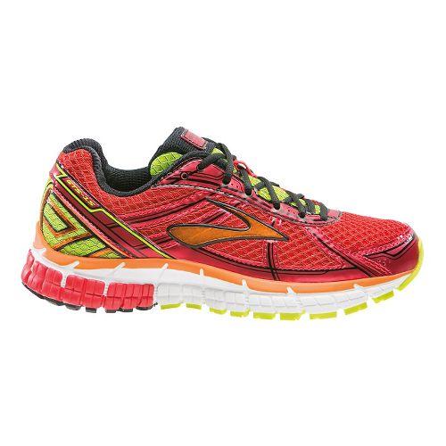 Kids Brooks Adrenaline GTS 15 Running Shoe - Risk Red/Satsuma 1.5