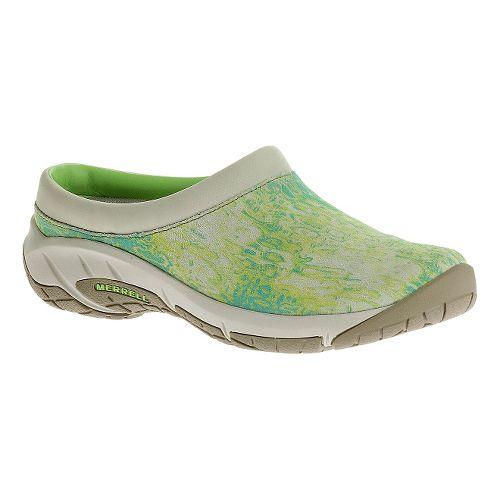 Womens Merrell Encore Splash Casual Shoe - Green 10
