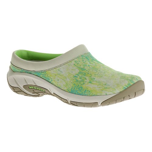 Womens Merrell Encore Splash Casual Shoe - Green 5