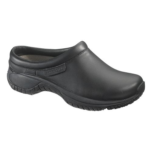 Womens Merrell Encore Pro Grip Casual Shoe - Black 8.5