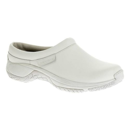 Womens Merrell Encore Pro Grip Casual Shoe - White 10.5
