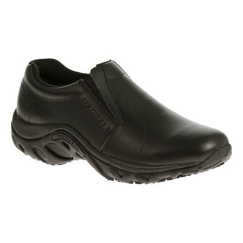 Womens Merrell Jungle Moc Pro Grip Casual Shoe - Black 5.5